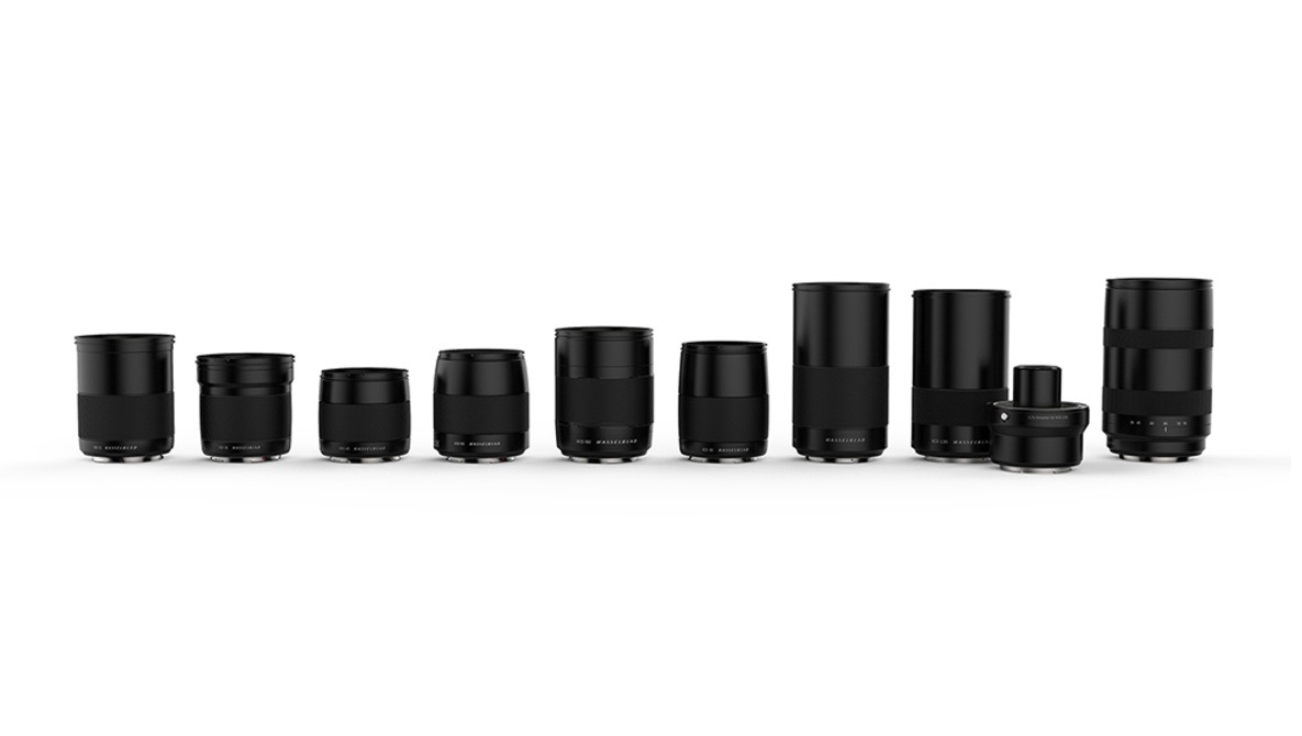 New Lenses Announced for the Hasselblad X1D