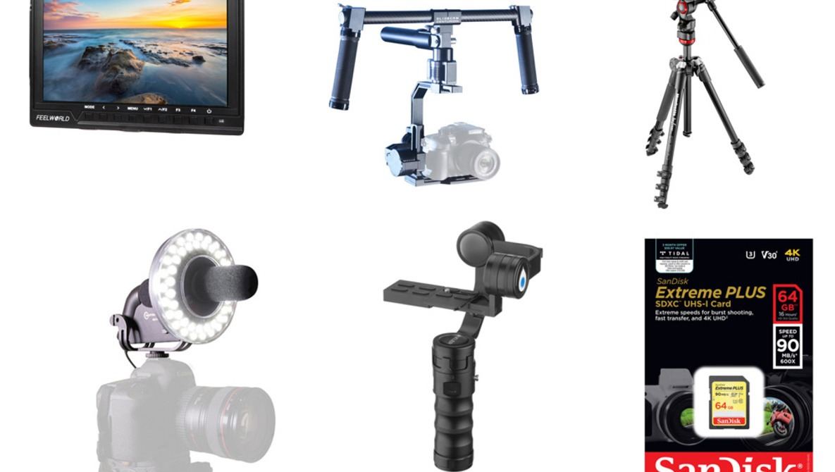 B&H Video Accessories Sale Offers an Array of Stocking Stuffers