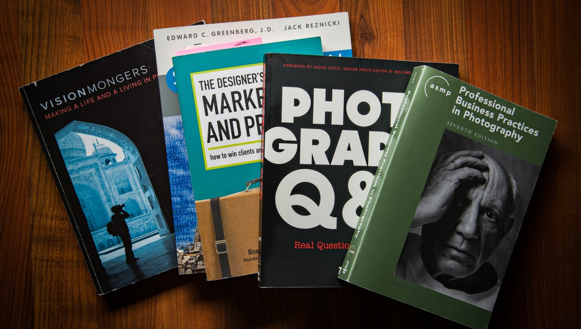 Five Books That Changed My Life as a Professional Photographer