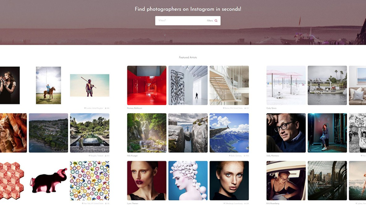 CherryDeck: A Free Marketplace for Instagram Portfolios