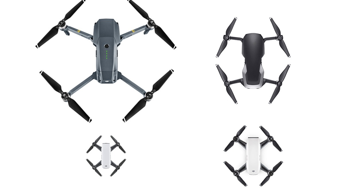 DJI Tello, Spark, Mavic Air, or Mavic Pro: What Are the