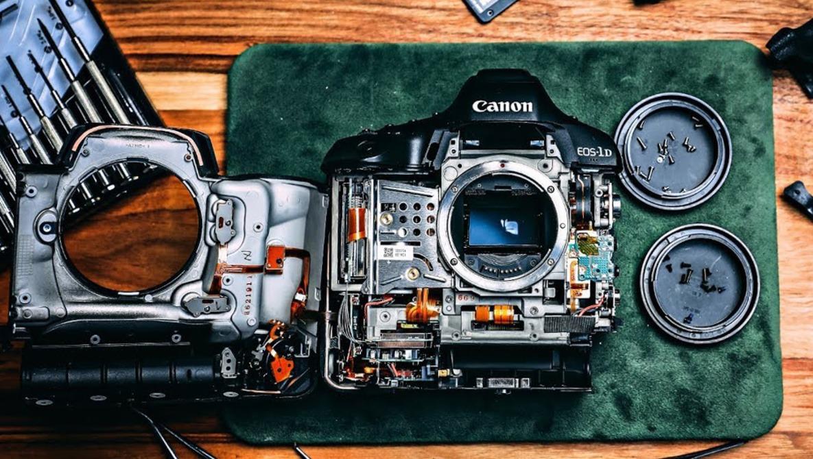 как довести корпус фотоаппарата до блеска снова