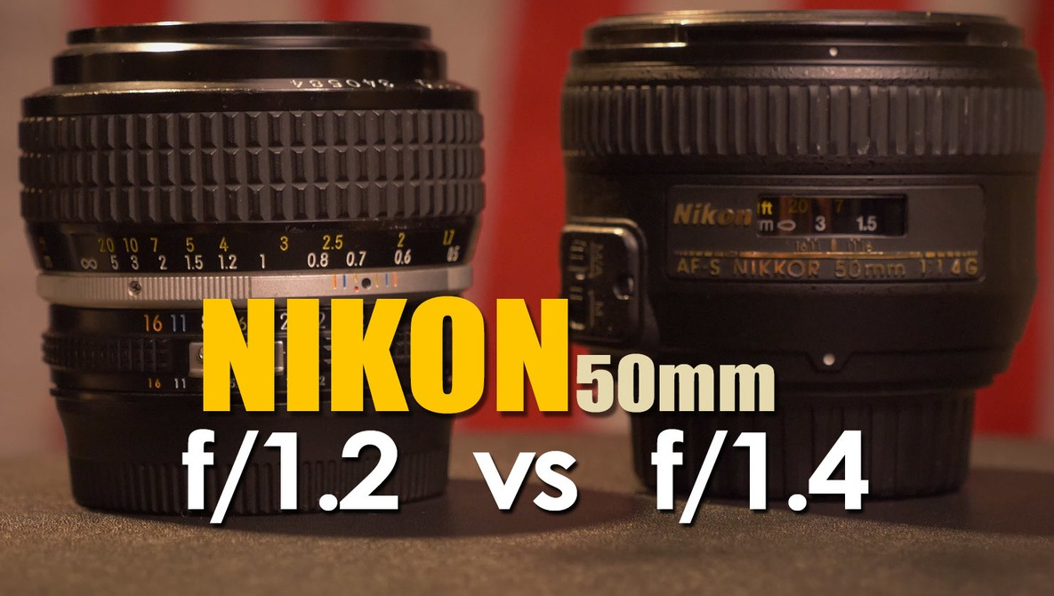 Is the Nikon 50mm f/1 2 Nikkor Lens Better Than the f/1 4