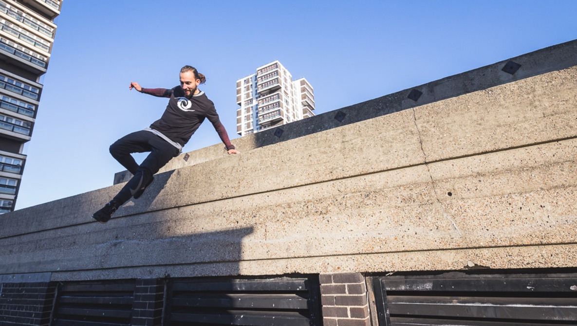 Capturing Fear: Photographing a Parkour Community Training Event
