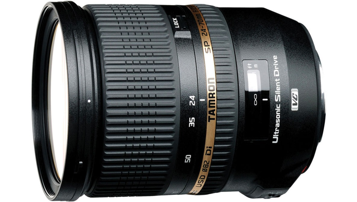 Get an Amazing Deal on the Tamron SP 24-70mm f/2.8 DI VC USD Lens Today Only
