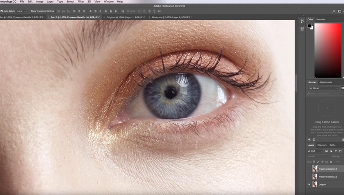 How to Enlarge Photos Without Losing Detail in Photoshop CC