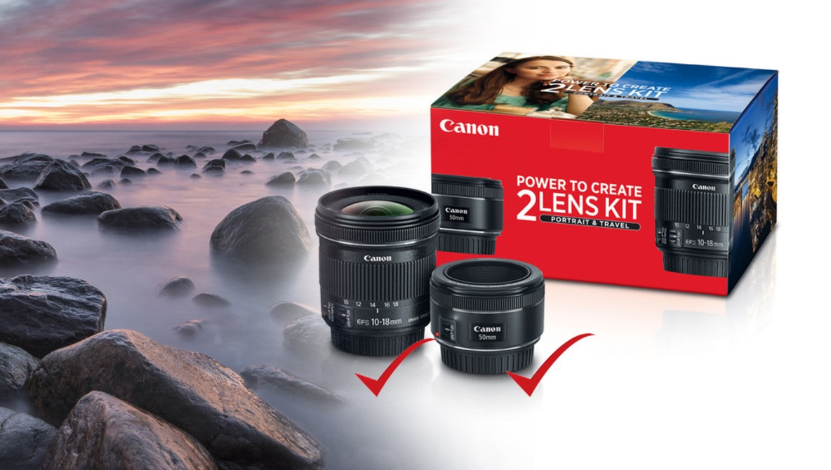 Canon's Portrait and Travel Kit Is a Great Deal for Photographers