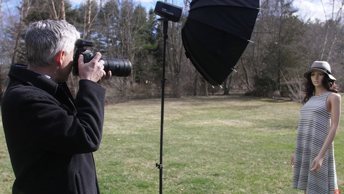How to Overcome Harsh Sunlight by Shooting Outdoor Portraits With