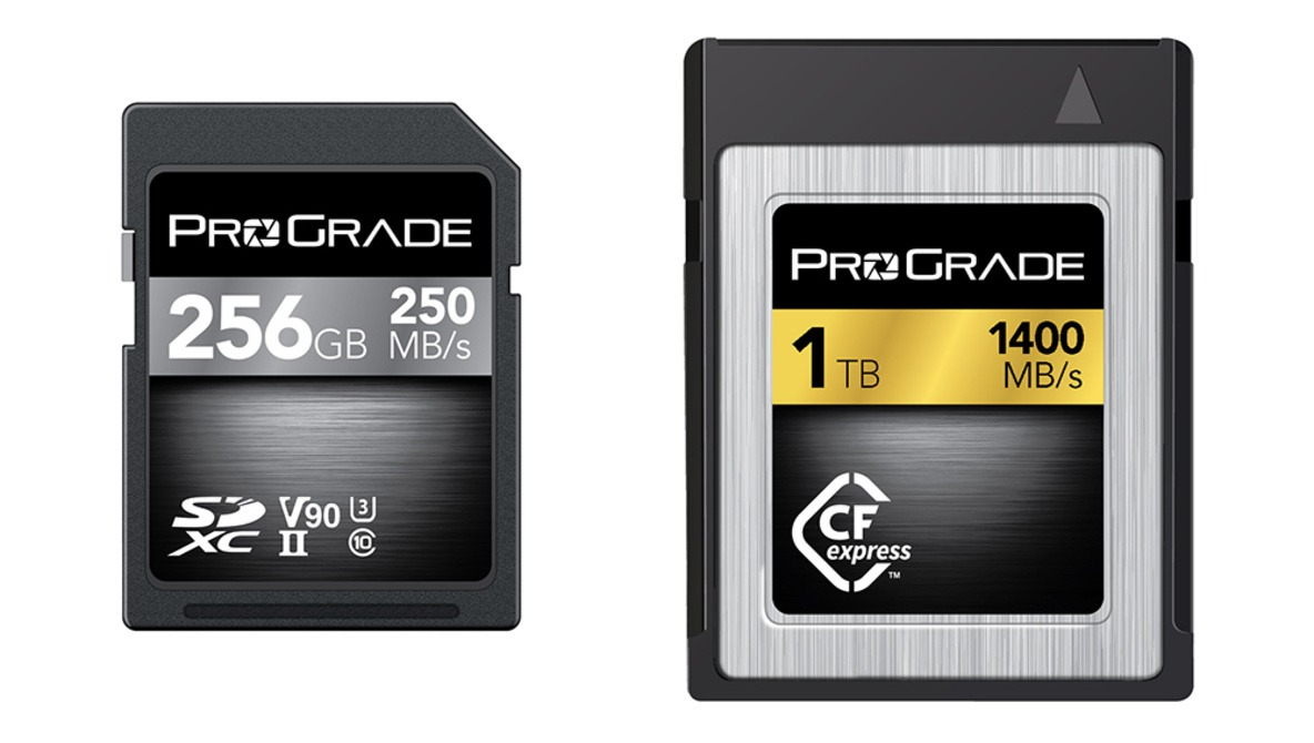 ProGrade Digital Demonstrates First CFexpress 1.0 Cards and More |