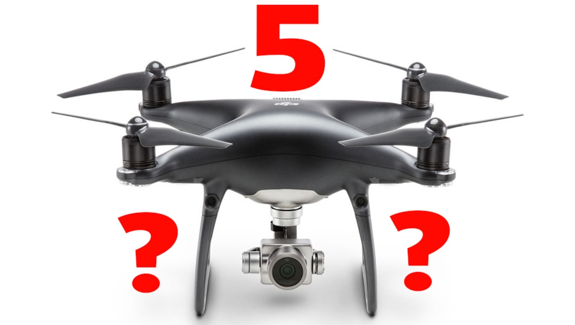 Are The Leaked Images Of A DJI Phantom 5 With An Interchangeable Lens Camera Credible