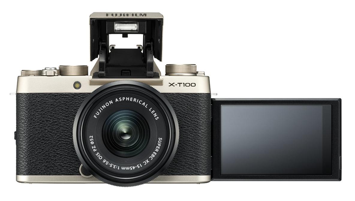 Fuji Announces the X-T100 Camera