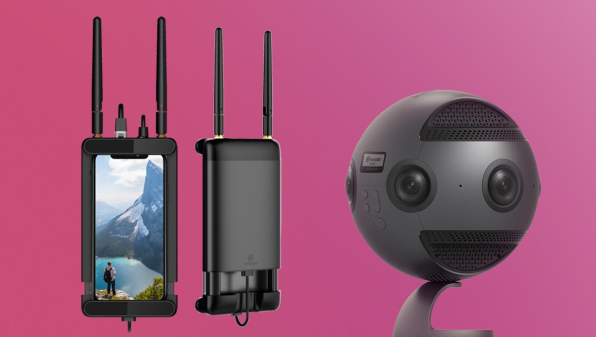 Insta360 Announces Wireless Video System