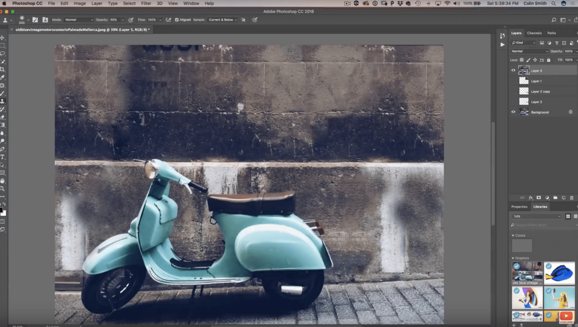 Easily Remove Distracting Background Elements From a Photograph In Three Steps
