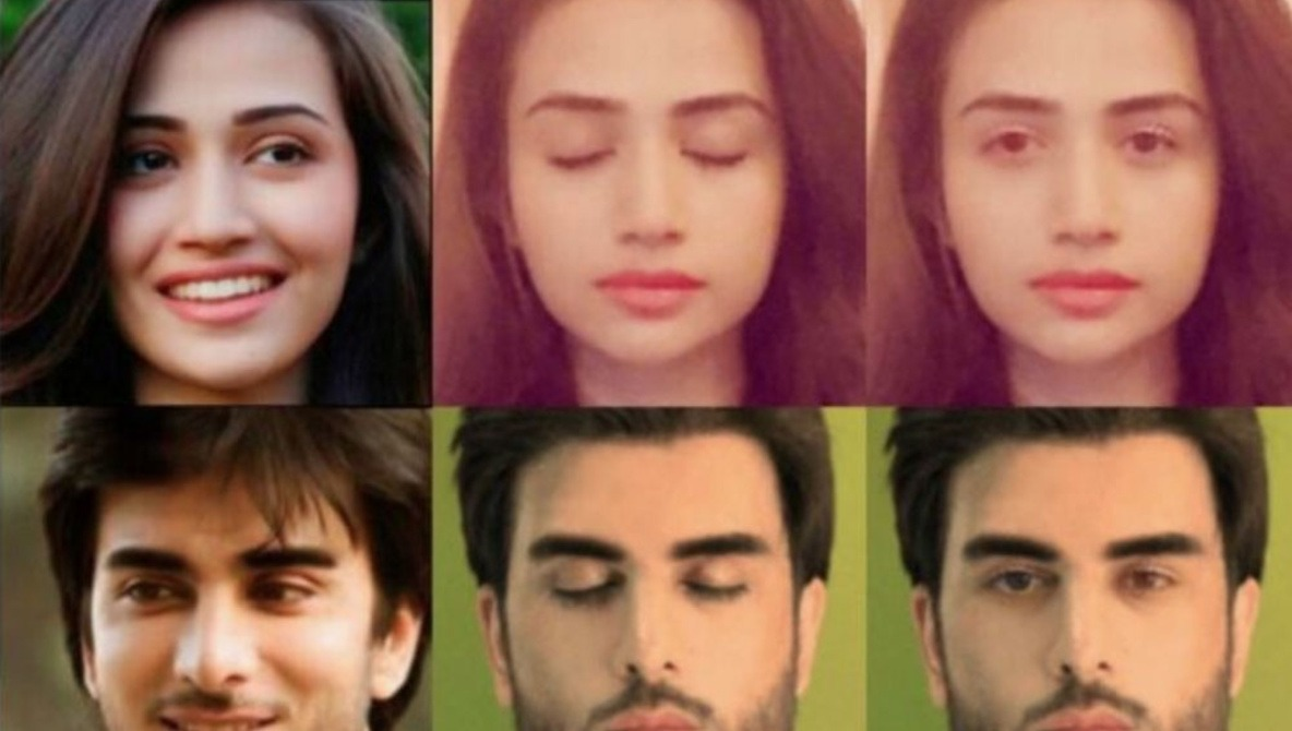 Facebook Releases First Examples of AI That Can Digitally Open Eyes if You Blinked