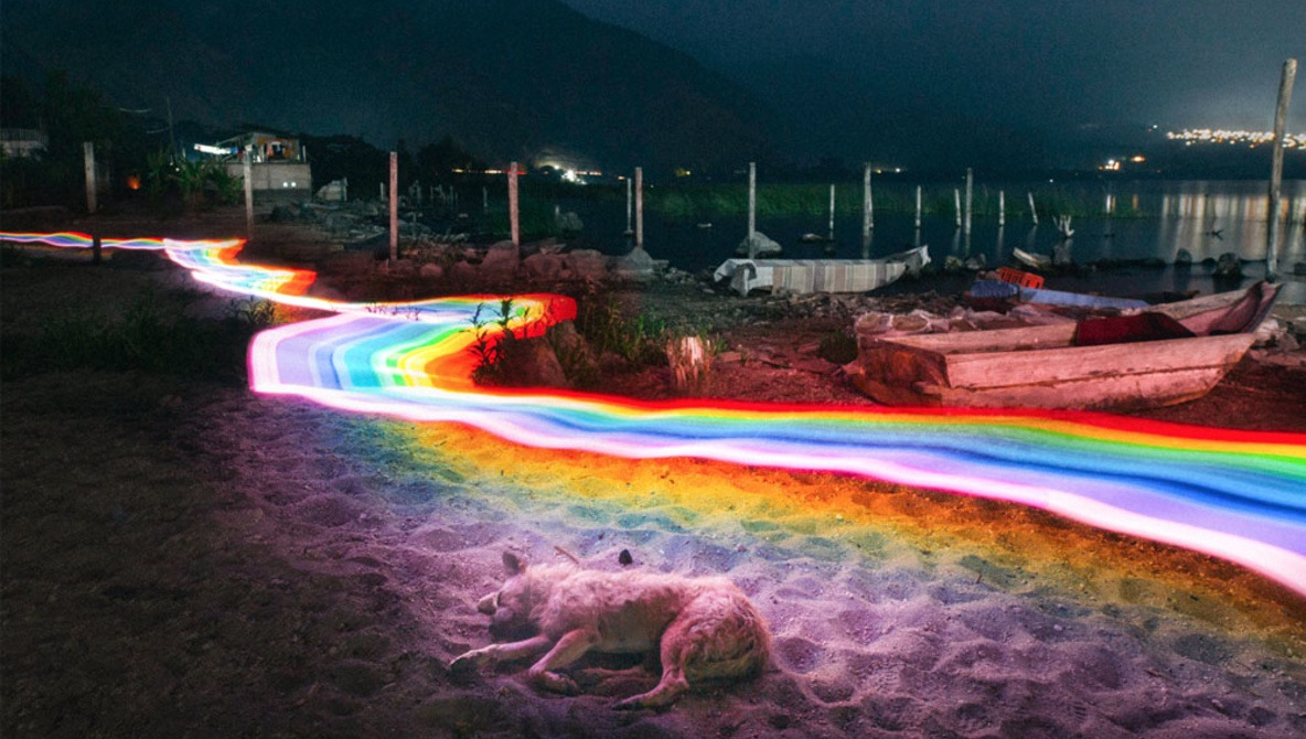 Filmmaker Creates Surreal Landscape Long-Exposure Series With Rainbow Trails