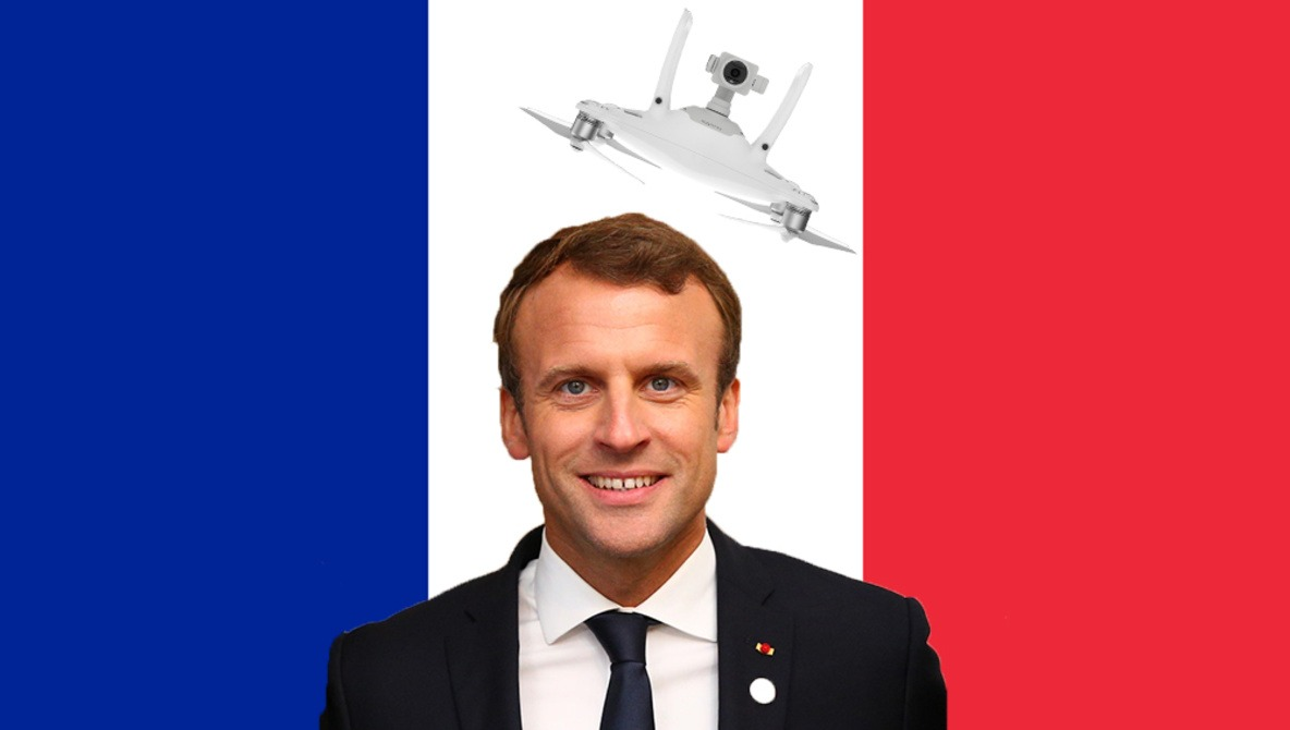 The French Secret Service Jammed and Crashed a Drone Flying Near the Summer Residence of President Macron
