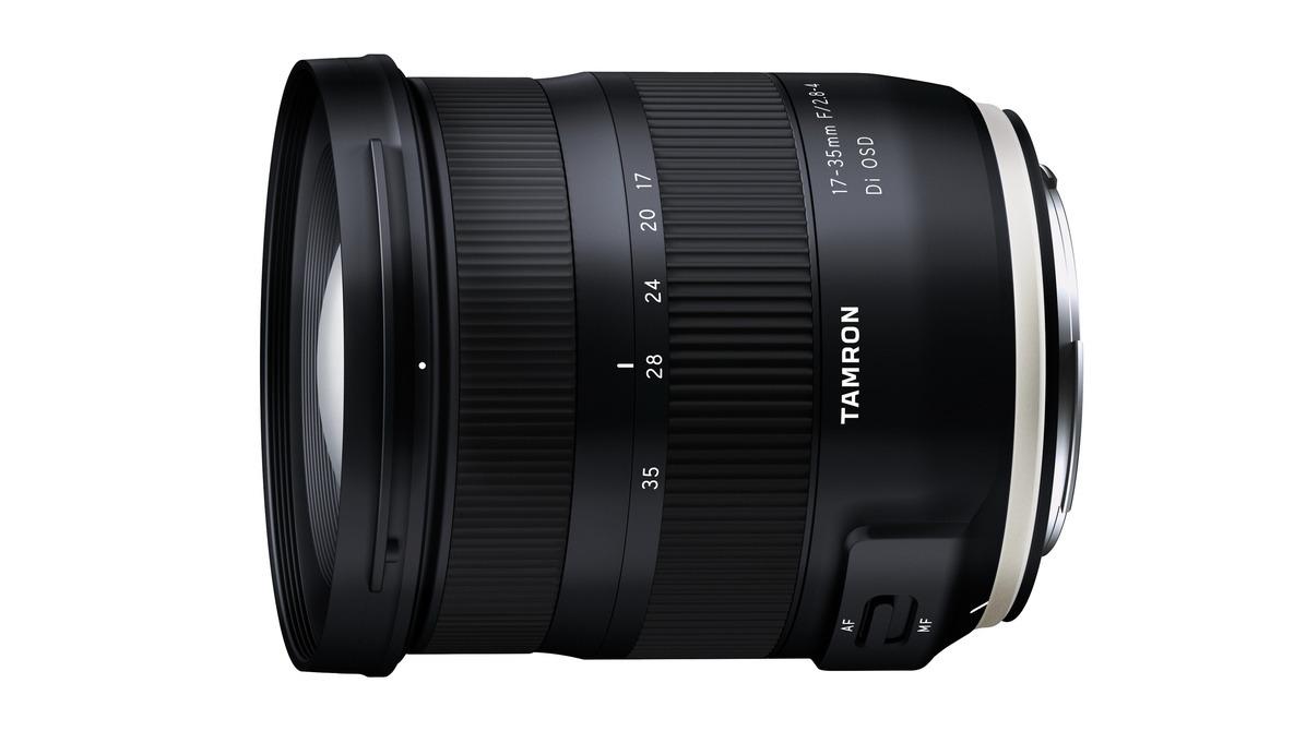 Tamron Announces the17-35mm F/2.8-4 Di OSD Lens