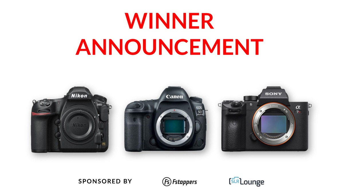 [UPDATED] Win a Nikon D850, a Canon 5D Mark IV, or a Sony a7R III - Plus More