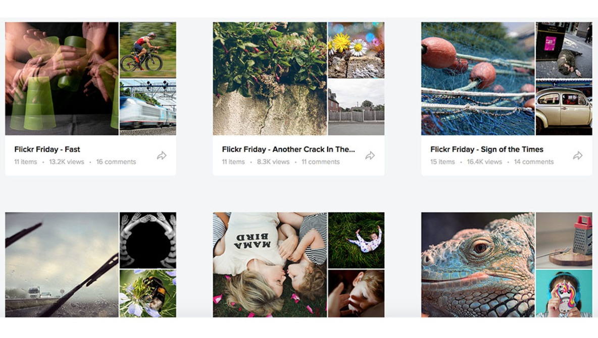 Flickr Continues to Reinvent Its Interface With Big Changes to Galleries