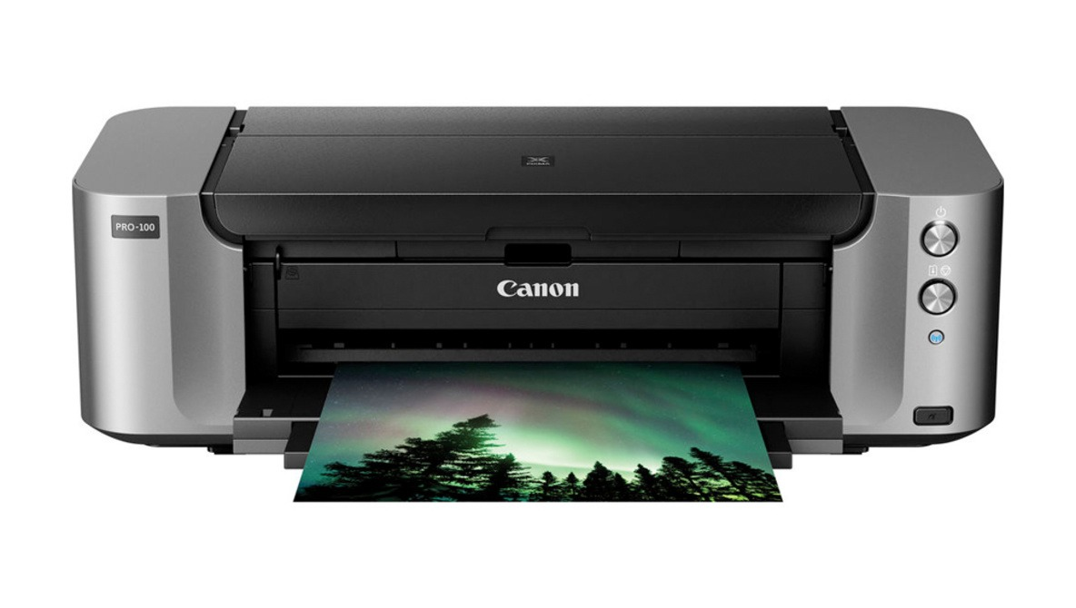 Get a Canon PIXMA PRO-100 Photo Printer and 50 Sheets of Photo Paper for Only $59