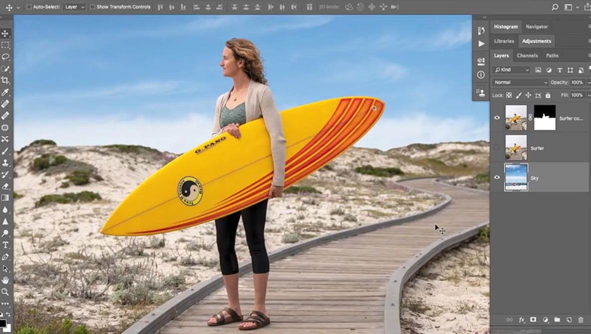 Easily Replace a Bland Sky in Adobe Photoshop