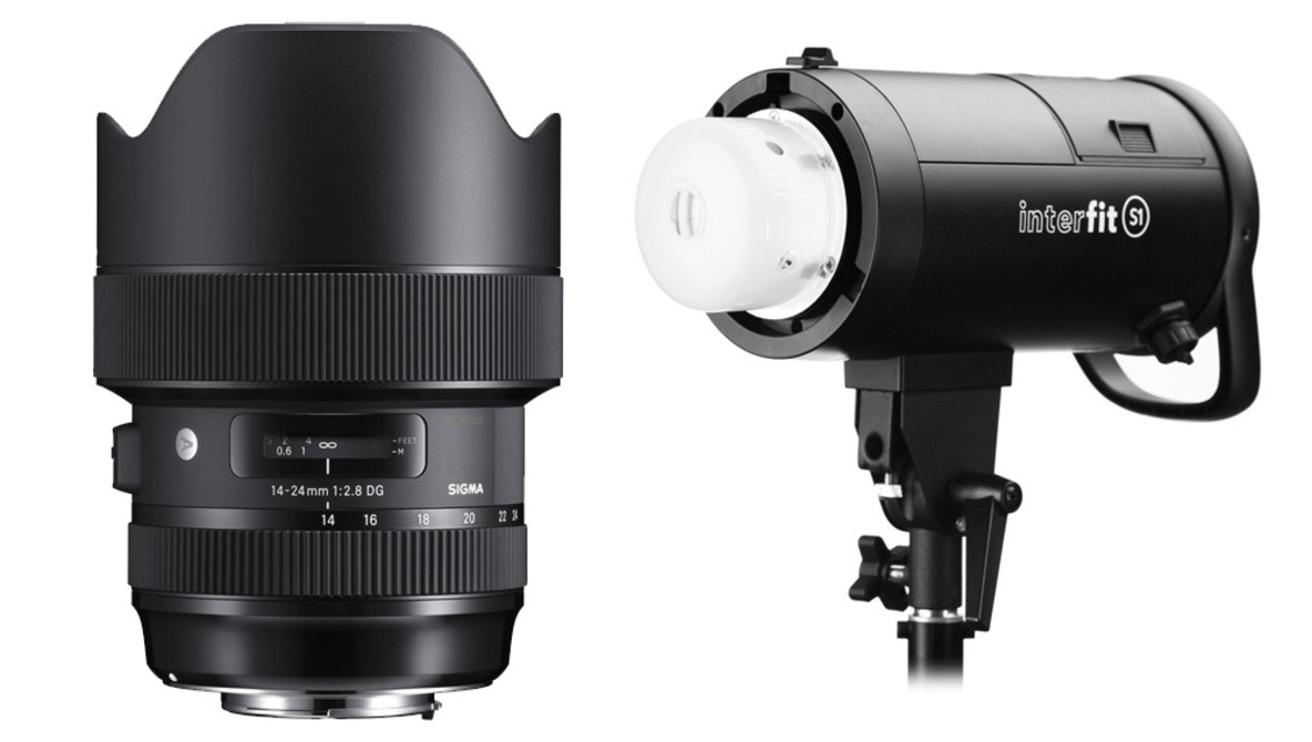 Take $400 off the Sigma 14-24mm f/2.8 Art Lens and $500 off the Interfit S1 500 Ws Monolight Today Only