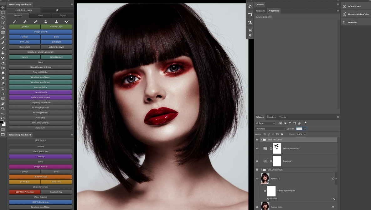 The Retouching Toolkit 3.0, Finally a Simple Way to Create Your Custom Photoshop Panels