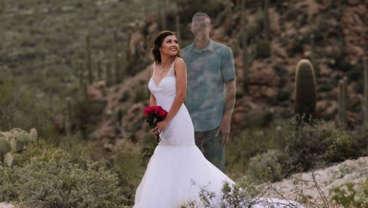 Deceased Fiance Edited Into Wedding Photos: What Are Acceptable Editing Limits?