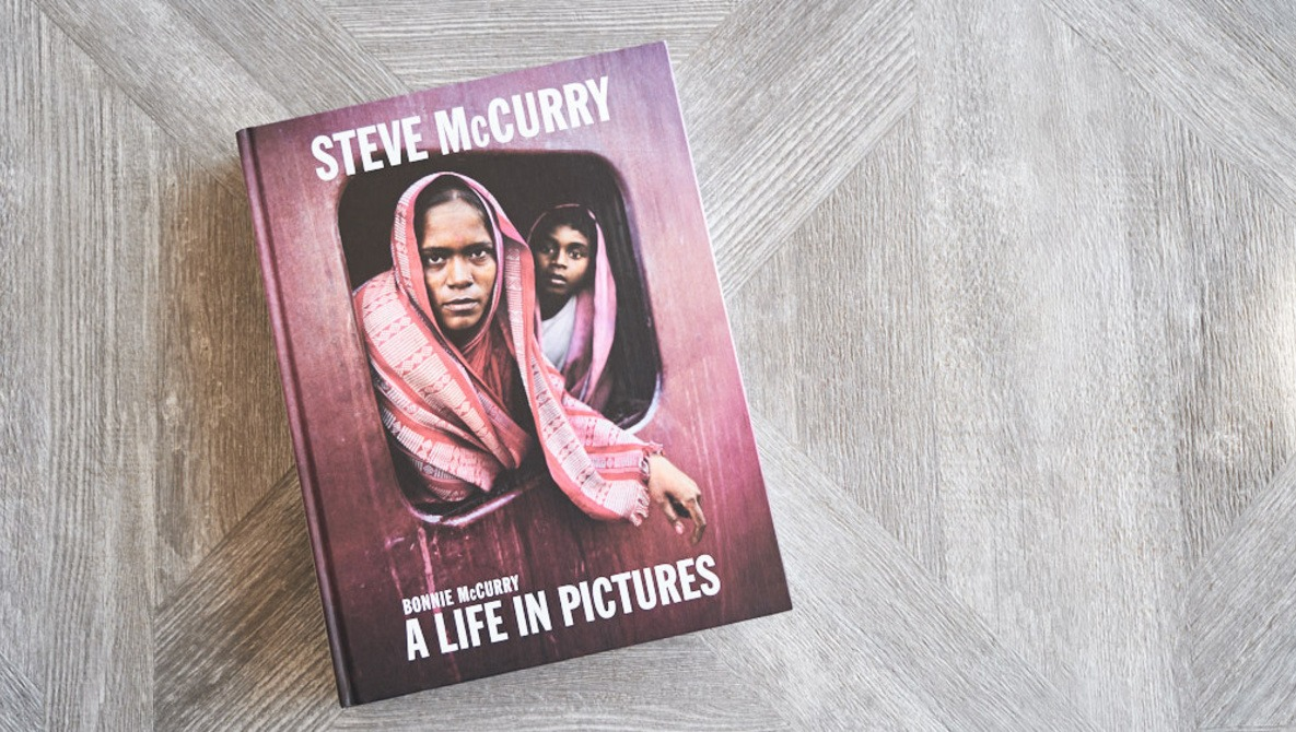 Interview and Book Review: 'Steve McCurry: A Life in Pictures'