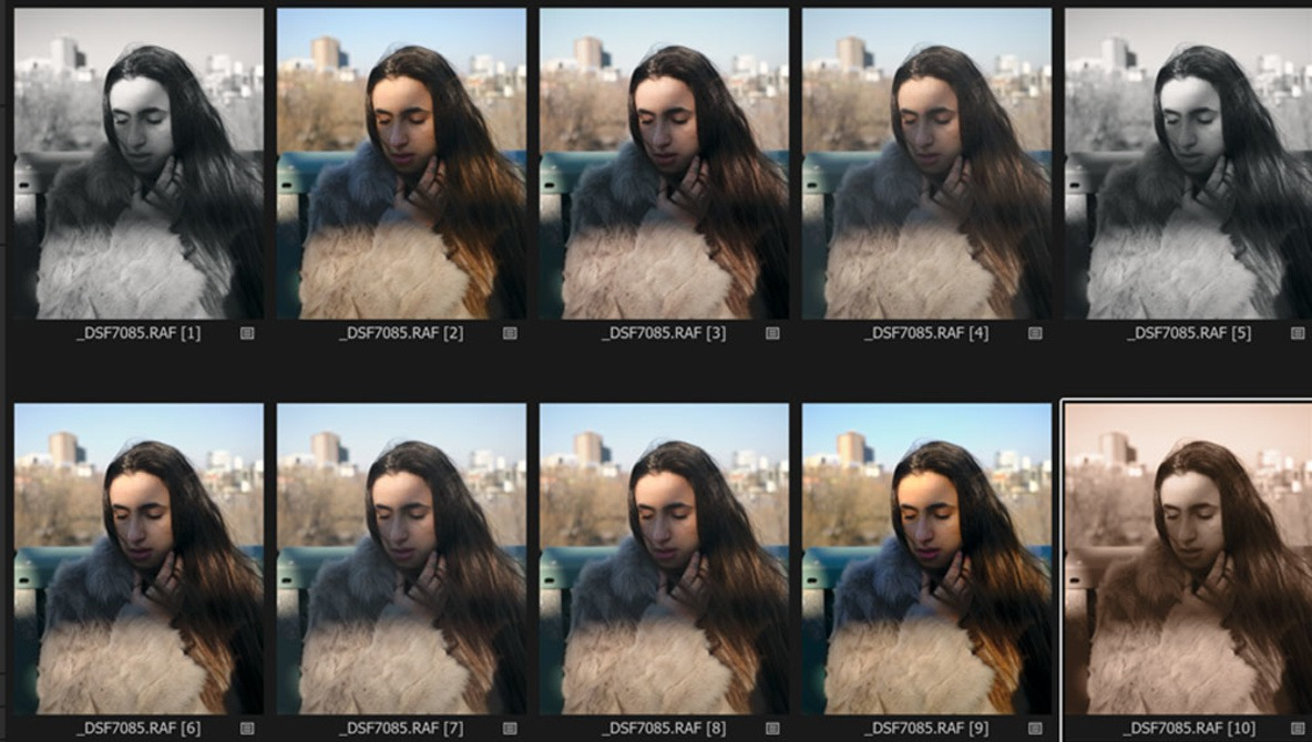 How to use Fujifilm Film Simulations in Capture One 12