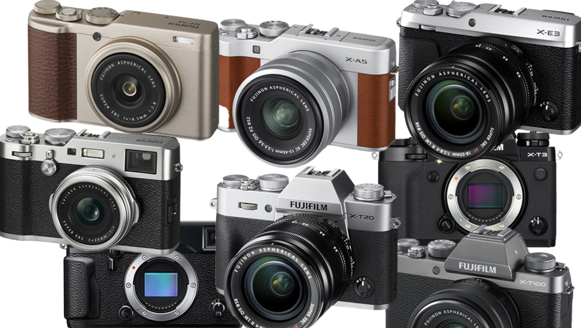 A Breakdown of the Many Camera Models of the Fujifilm X-Series