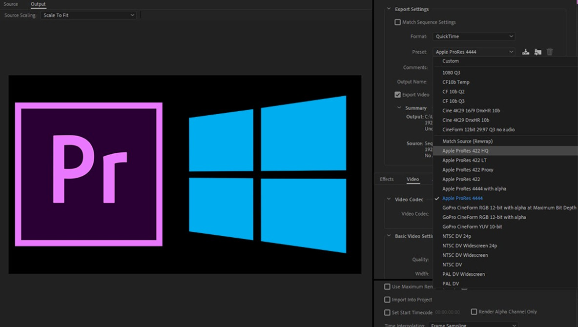 This Is Huge: Adobe Now Supports ProRes Export on Windows