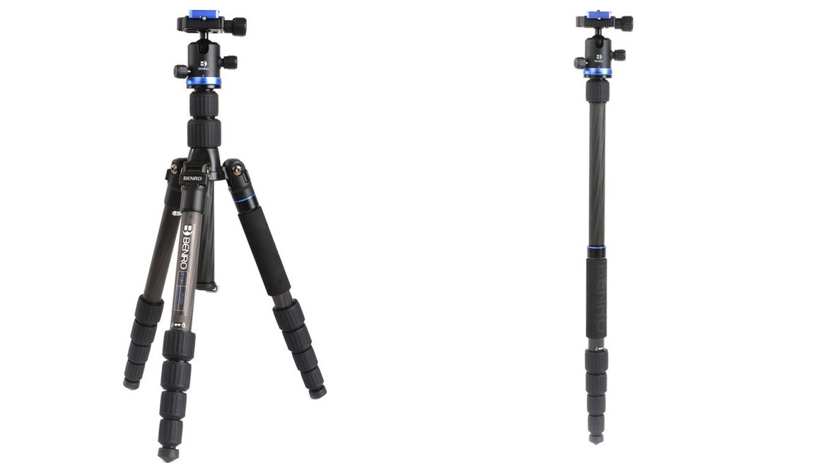 This Carbon Fiber Tripod From Our Favorite Brand Is Half Off Today