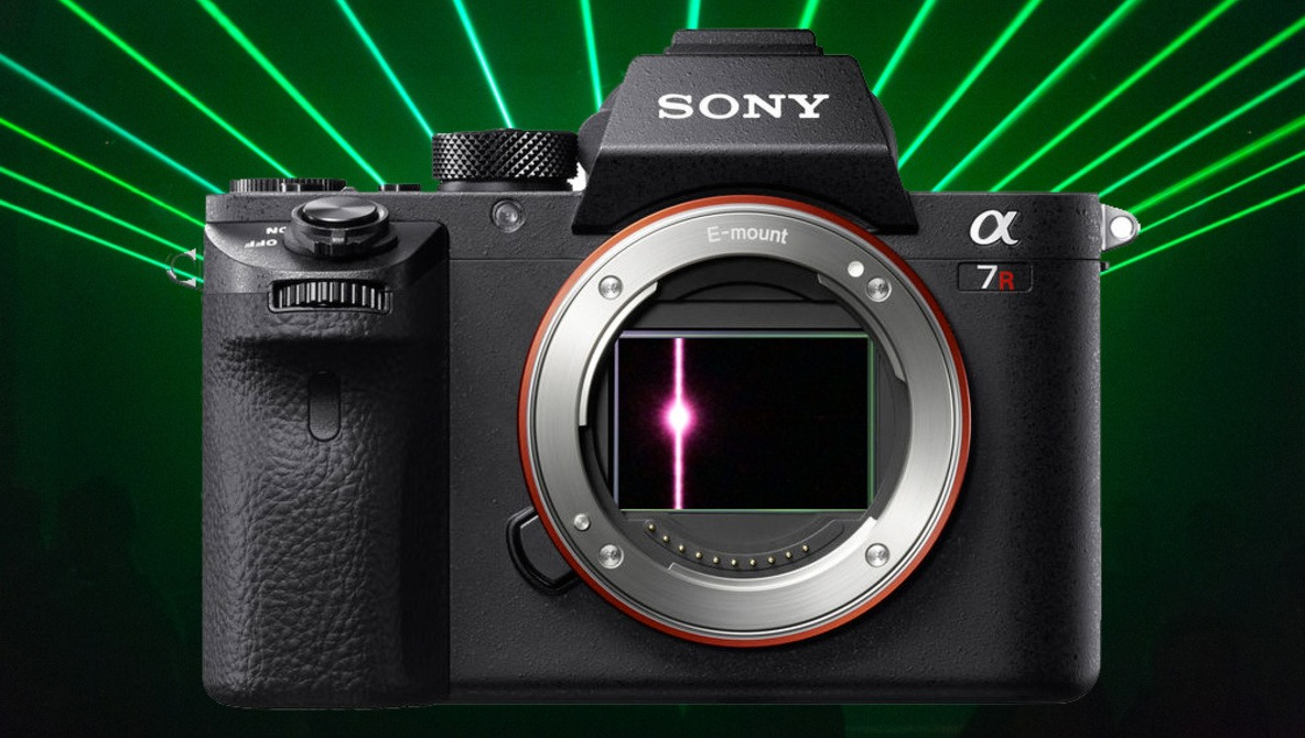 Laser from Self-Driving Car Destroys Photographer's Sony a7R II Sensor