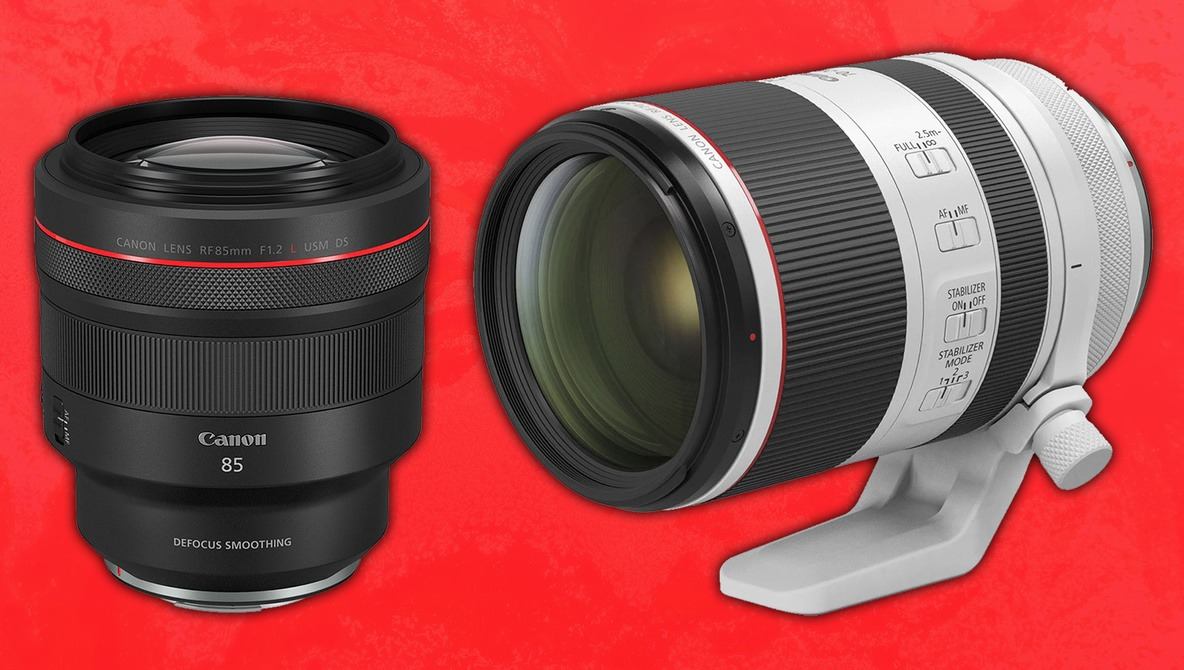 Canon Officially Announces Development of Six New RF-Series Lenses