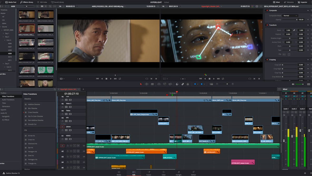 Editing a Video From Start to Finish in DaVinci Resolve 15: Eight