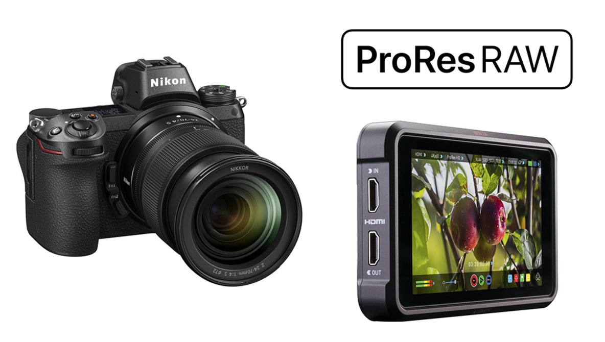 Nikon and Atomos Announce 12-Bit ProRes Raw External Recording on the Z 6 and Z 7 Cameras