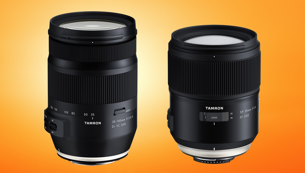 Tamron Announces Two New Lenses for Full-Frame DSLRs: 35mm f/1.4 and 35-150mm f/2.8-4