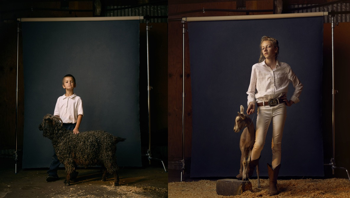 """A Behind the Scenes Look Into How Photographer R. J. Kern  Shot This Heartwarming Photo Series called """"The Unchosen Ones"""""""