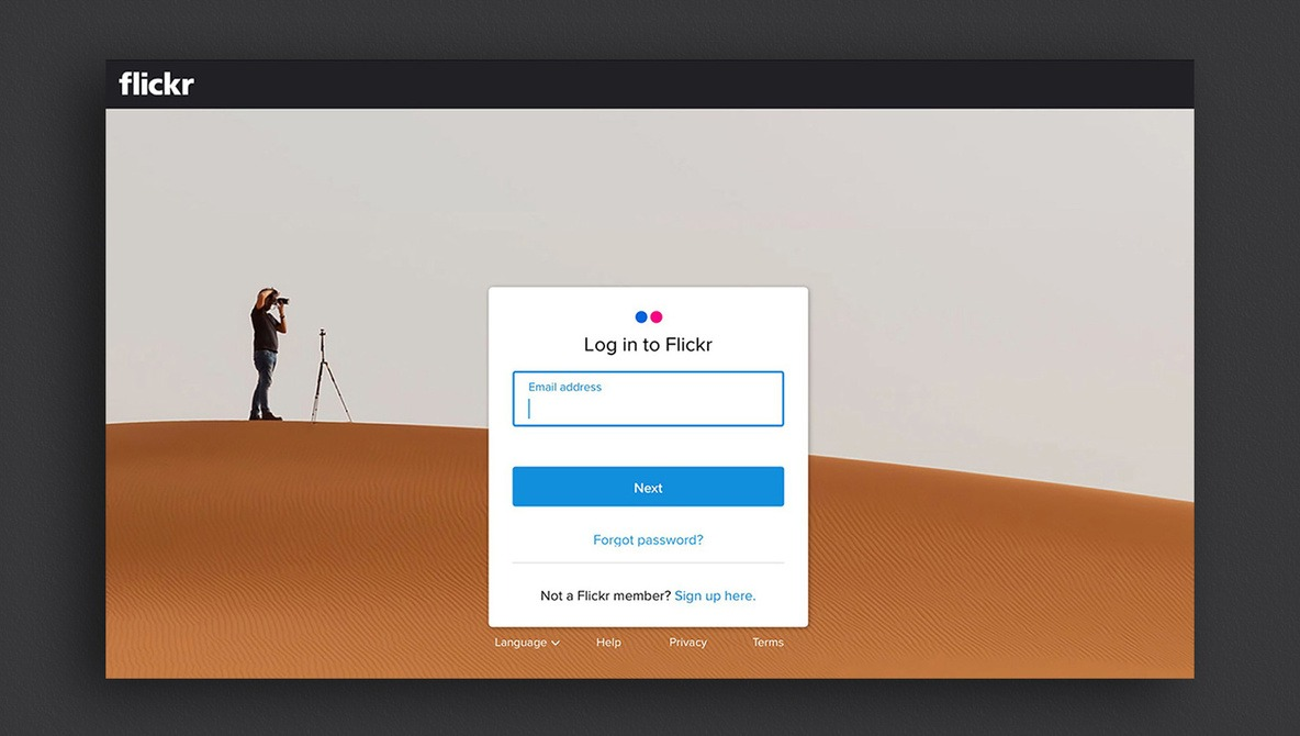 Flickr Getting Rid of Yahoo Logins Starting Today