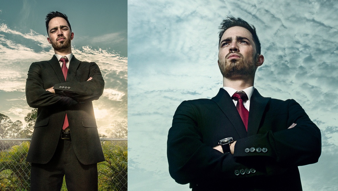 How I Overpowered the Sun in This Outdoor Portrait Shoot