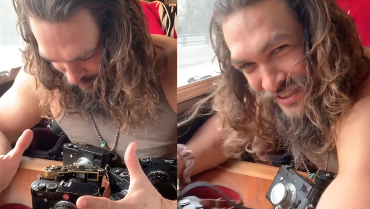 Aquaman Actor Jason Momoa Reveals 'Obsession' With Leica, Potential Collaboration