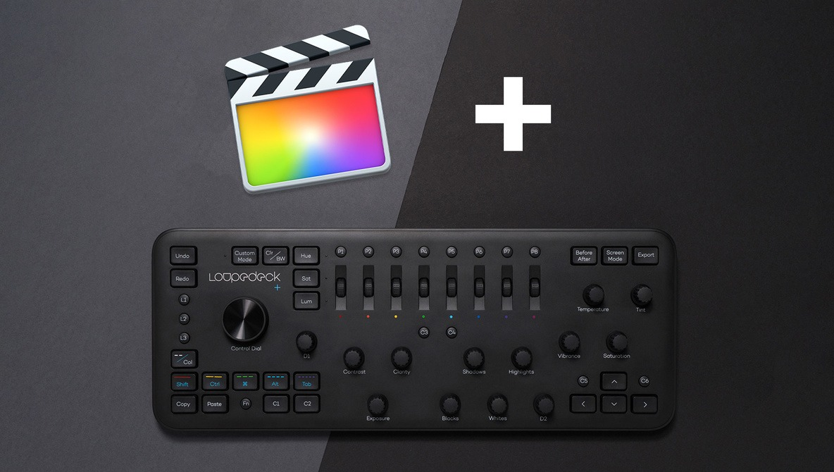 Loupedeck+ Now Supports Final Cut Pro and Adobe Audition