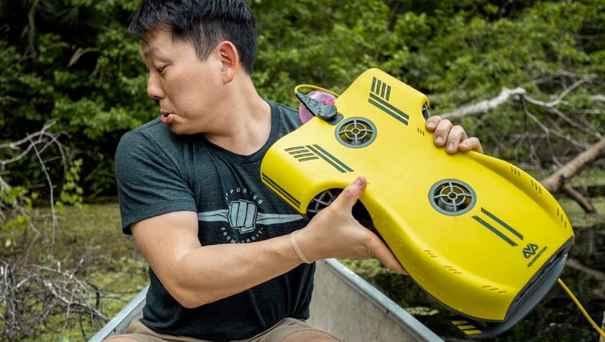 Need an Underwater Drone for Exploring Swamps and Swimming Pools?