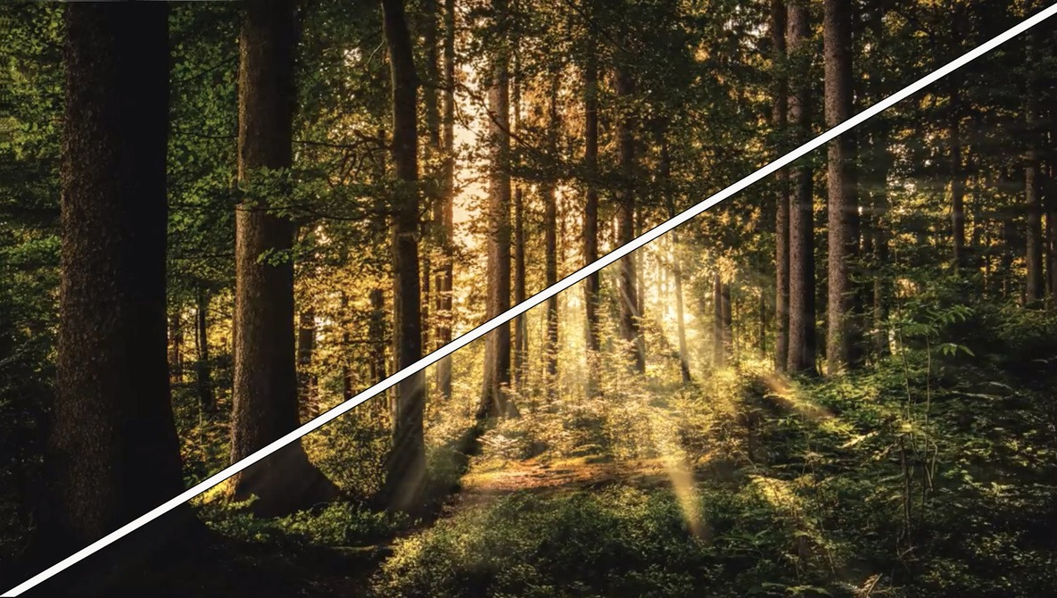 Create Striking Rays of Light Easily in Photoshop