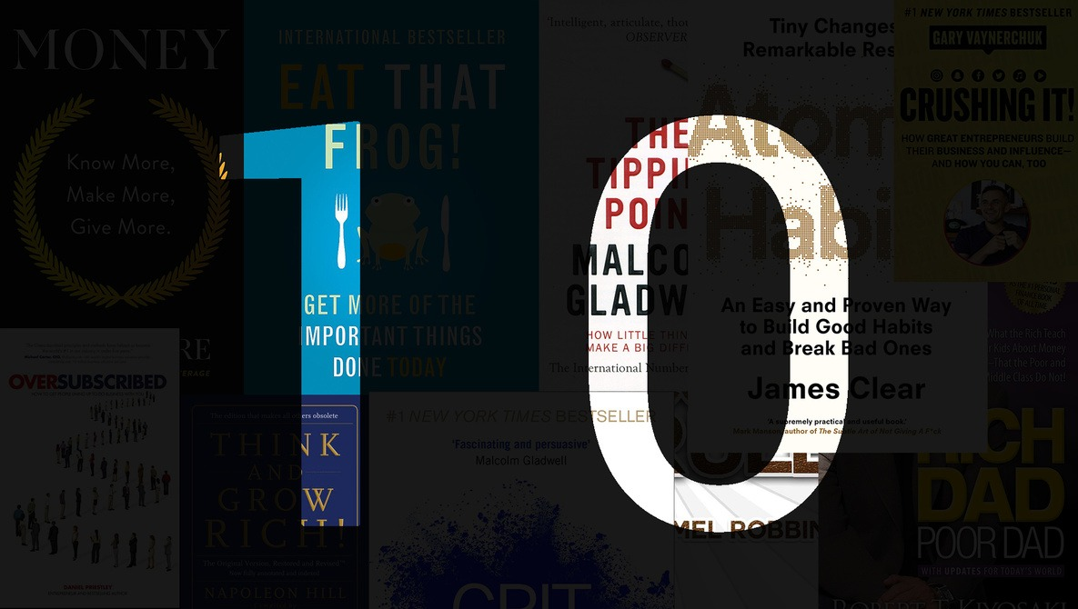 Top 10 Business and Development Books for Photographers