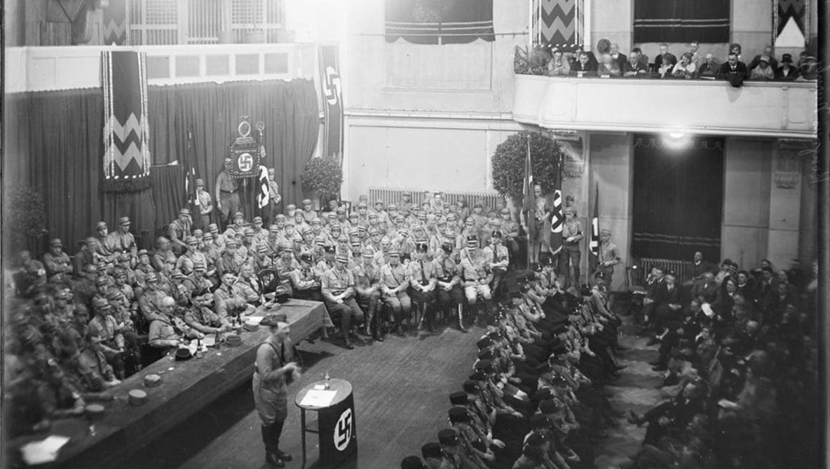 Rare and Unseen Photos of Hitler and Nazi Rallies Released, Digitized From Glass Negatives