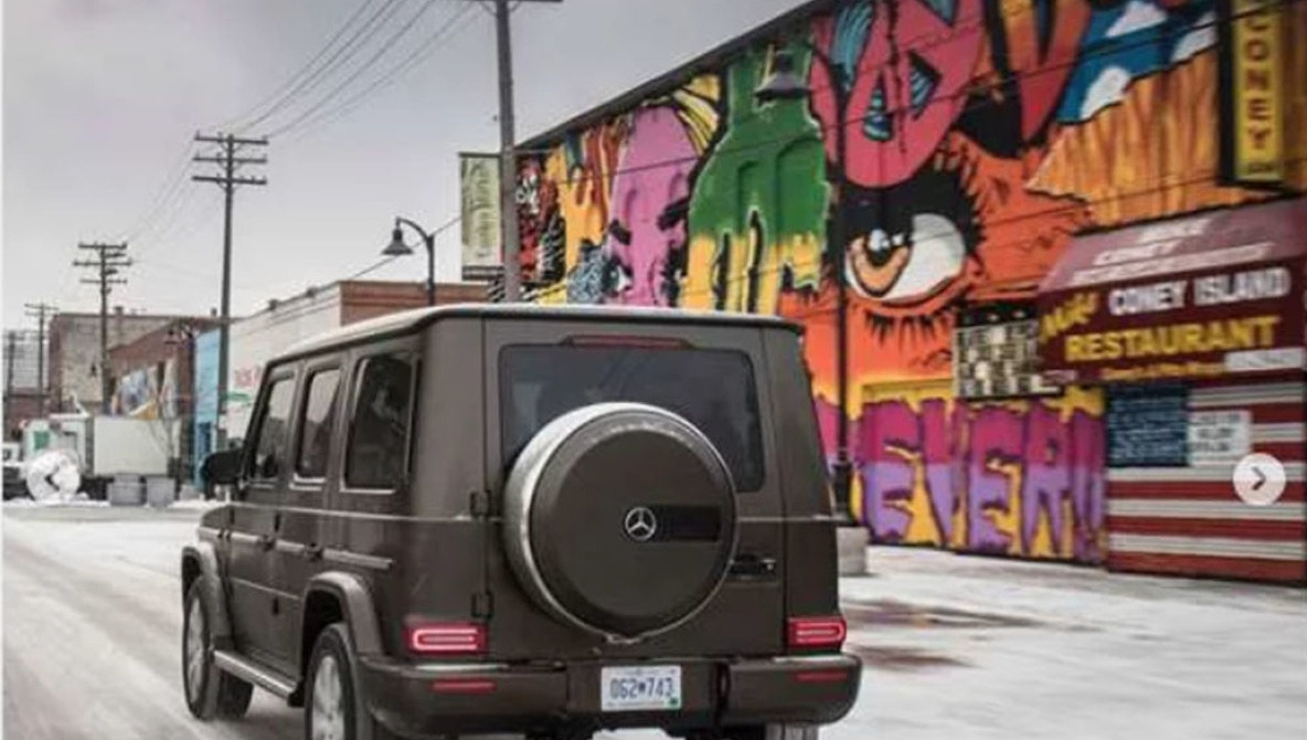 Mercedes Countersue Graffiti Artists Over Dispute in Using Murals in Their Car Campaign