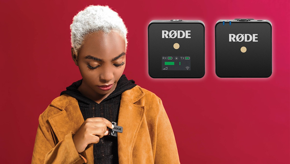 Rode Wireless GO Combines the Mic and Transmitter All in One
