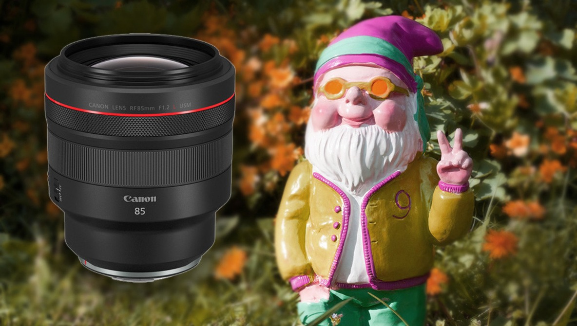 Why Canon's New 85mm Lens Is Brilliant, Ridiculous, and Completely Unnecessary